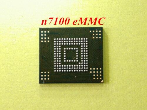 2 stücke-12 stücke für samsung note2 n7100 NAND Flash speicher mit firmware KMVTU000LM-B503 EMMC