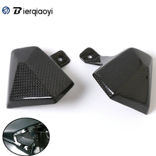 For Kawasaki Z800 Accessories Motorcycle Carbon Fiber Carburator Cover Protection Guard Protector 2013-2016