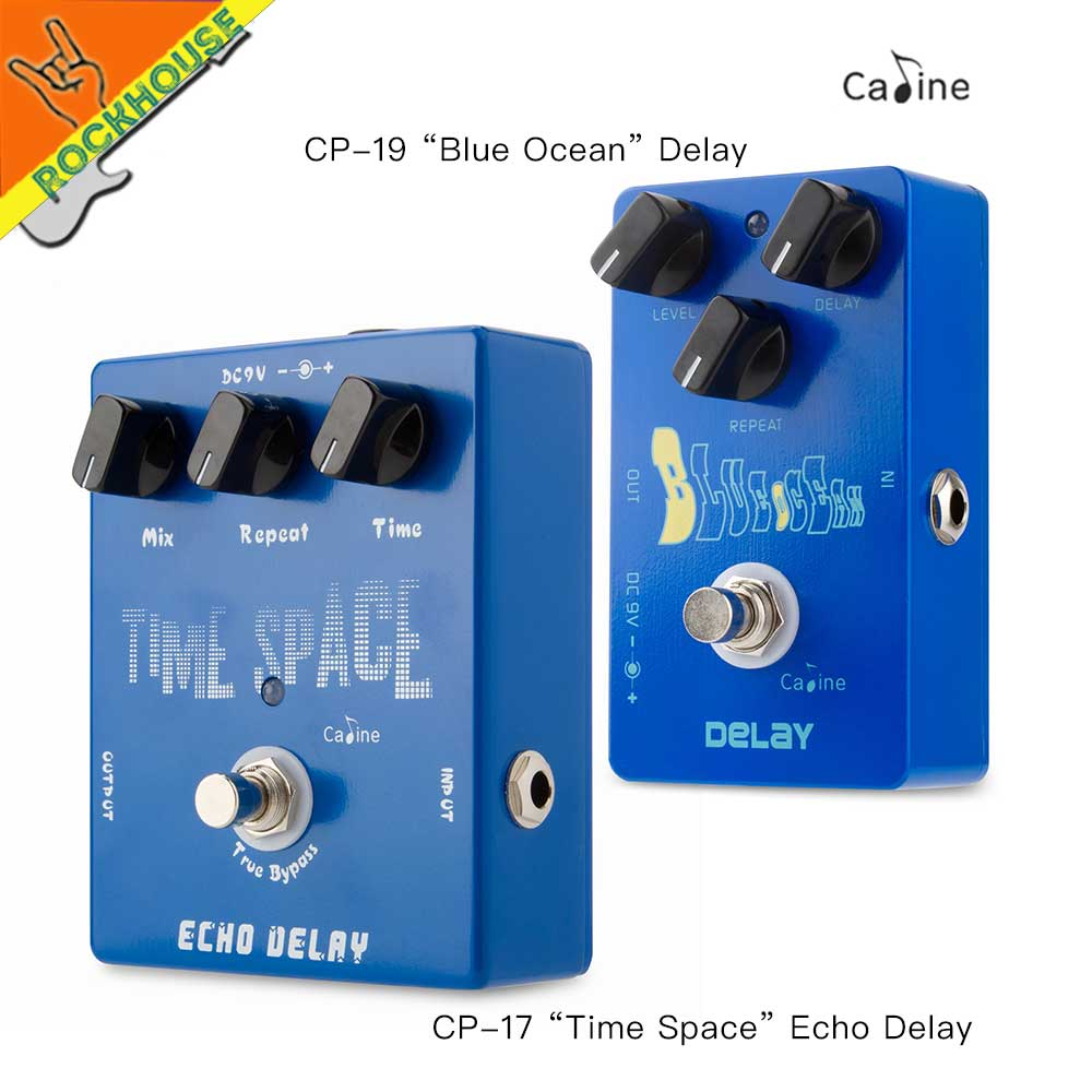 Caline Analog Delay Guitar Effects Pedal Echo Circuit Stompbox 600ms Time Smooth Warm True Bypass Free Shipping In Parts