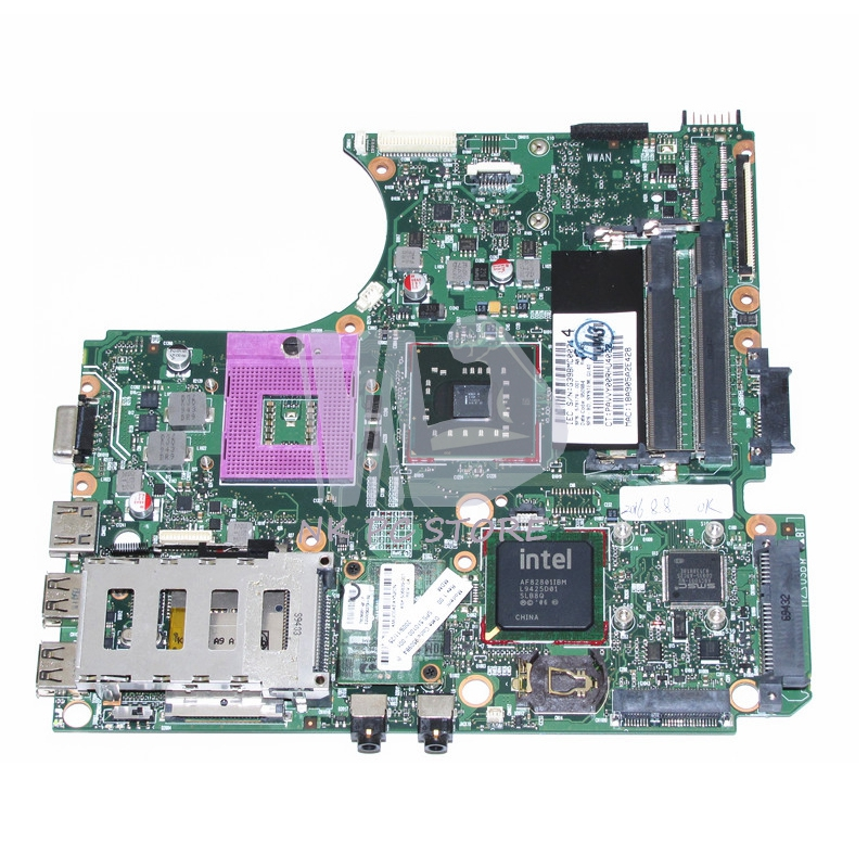 578179-001 System board / Main board For HP Probook 4410 4410T 4411S Laptop Motherboard GL40 DDR2 Free CPU