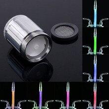 Романтический 7 цветов светодиодный светильник душевая головка водяная Ванна домашняя ванная комната светящаяся для дома для ванной для душа головка 35*28 мм