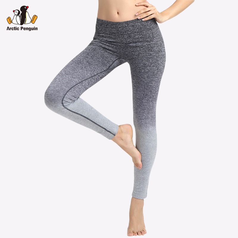 Prix pour [AP] Nouveau Sport Leggings Fitness Gym Femmes Gradient Rampe D'entraînement Femmes De Yoga Pantalon Mince Élastique du Film Bodybuilding Vêtements