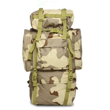 Luggage double shoulder professional valiz mountaineering bag Camouflage 65 L women bags backpack waterproof travel backpacks