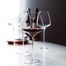High-grade Crystal Burgundy red wine goblet Champagne Goblet Bubble Wine Tulip Cocktail Wedding Party Glass Cup drinkware