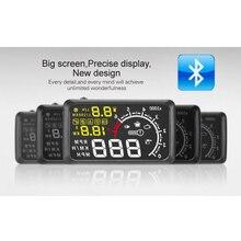 """Bluetooth версии 5.5 """"x3 большой Экран автомобилей HUD Head Up Дисплей со встроенным ELM327 модуль"""