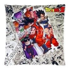 LUQI Japanese Anime Dragon Ball Z Warriors Cool Newspaper Throw Pillow Case 18×18 Inches Creative Bedding Pillow Slips