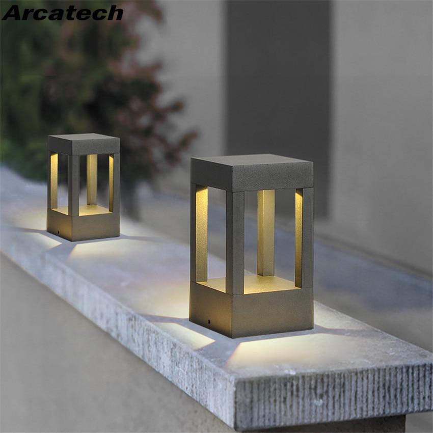 Us 44 1 10 Off Led Lawn Lamp Floor Outdoor Waterproof Garden Light Modern Landscape Villa Gr Nr75 In