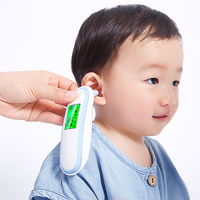 Baby Infrared Thermometer Forehead Body Temperature Fever Measure Non contact LCD Backlight Digital Termometer Baby Care