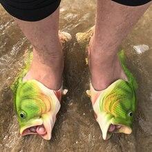 Новая модная летняя обувь мужские сандалии холст тапочки Для мужчин S Сланцы Сандалии резиновая пляжные открытые личность странные