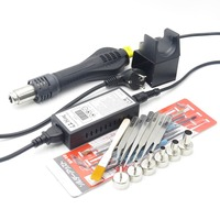 High Quality 220V Portable BGA Rework Solder Station Hot Air Blower Heat Gun 8858 Better Hand
