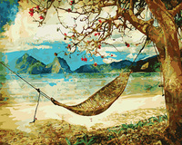Framless Wall Art Pictures Painting By Numbers Hand Painted On Canvas Abstract Oil Painting Sail Boat