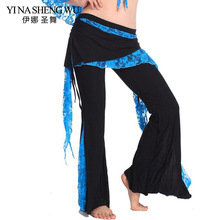 2018 Newest Wholesale Cheap Tribal Belly Dance Pants for Women Belly Dancing Costume Pant 10 Colors Available