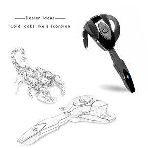 Image 4 - 新ミニスポーツのbluetooth 4.1ワイヤレスヘッドセットとハンズフリー耳フックイヤホンmic PS3ゲームコンソール