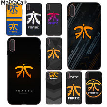 MaiYaCa LOL fnatic fnc Colorful Smart Cover Phone Case for Apple iphone 11 pro 8 7 66S Plus X 5S SE XS XR XS MAX Cover(China)