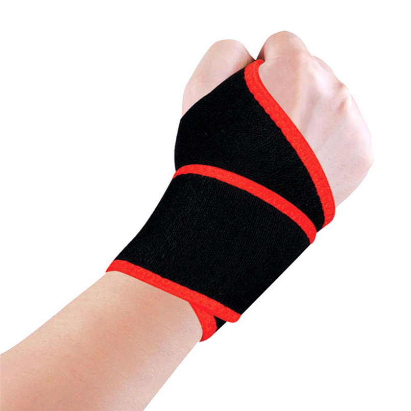 snowshine2#4501 Bike Bicycle Cycling Protection Gloves Black Wrist Brace Support Splint Fractures Carpal Tunnel Sprain Pain