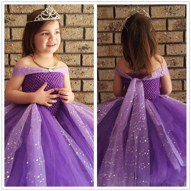 Online Shop Pageant Princess Cinderella Prom Ball Gown Sparkle Girl ...