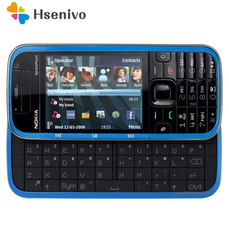 5730 100% Original Nokia 5730 XpressMusic Original Phone Unlocked Quad Band FM Radio GSM Symbian Cellphone Refurbished