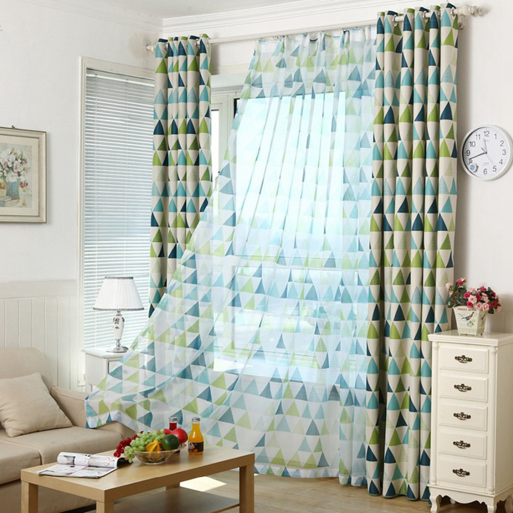 Curtain for Window Draps European Modern Luxury Curtains for Living Room Kitchen Bedroom Kids Sheer Tulle Window Panel