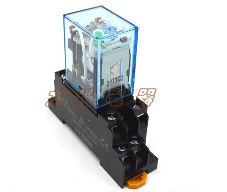 цена на 5sets LY2NJ AC  12V DC Coil Power Relay  Miniature Relay DPDT 8 Pins 10A 240VAC LY2 HH62P LY2 JQX-13F With PTF08A Socket