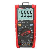 UNI T UT195E Industrial True RMS multimeter AC DC Tester Digital LoZ Voltage 600V / IP65 / Flashlight/ACV 750V 5kHz bandwidth