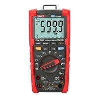 Uni t ut195e 산업용 방수 true rms 디지털 멀티 미터 6000 비트 600 v/20a ac dc 테스터 loz/ip65/손전등/acv 750 v