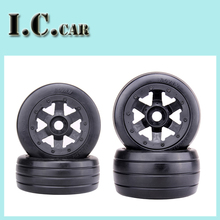 baja 5B Slicks Wheels Set for 1/5 HPI Baja 5B Parts Rovan KM