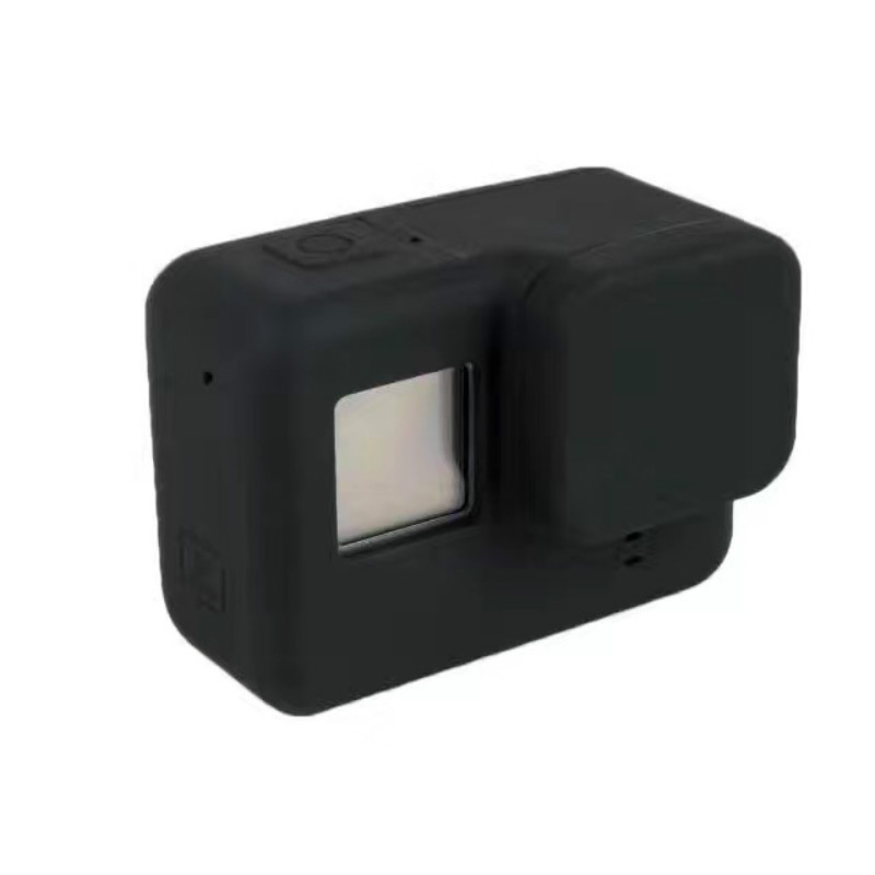 Teckam pour Gopro Hero 5 Accessoires Cas De Protection En Silicone pour Gopro Hero 5 Noir Hero 6 Camera Action