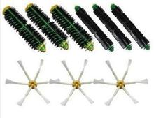 3 set Brush kit For iRobot Roomba 500 600 Series 550 560 570 580 610 etc. Vacuum Cleaner Accessories Replacement Band new