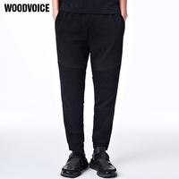 New Arrive Mens Joggers Fashion Brand Clothing Hoody Pants Casual Pants Black Sweatpants Male Mid Waist