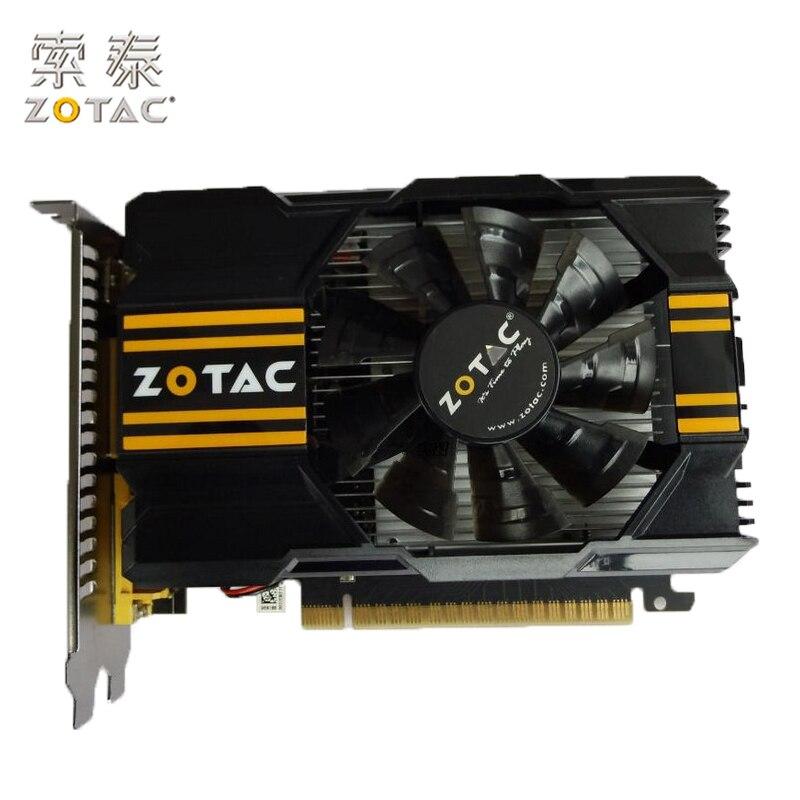 D'origine ZOTAC GT630-1GD5 Tonnerre MB Carte Graphique Pour NVIDIA GeForce GT630 GT600 1GD5 1G Vidéo Cartes 128bit GDDR5 Utilisé 65 W
