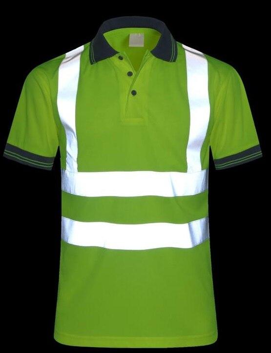 Воздухопроницаемой сеткой отражающей футболка безопасности для верховой езды одежда ГИБДД комбинезоны ...