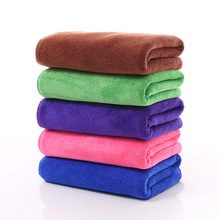 New 2pcs/lot Sanded Quick Drying Microfiber towel 30*70 absorbent beauty dry Car wash Dish Duster Cleaning Cloth