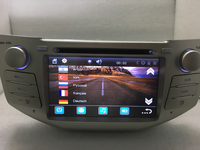 Trasporto libero 7 pollici Autoradio 2 Din DVD Player PER LEXUS RX300 RX330 RX350 RX400H Navigazione GPS in Dash Car Stereo per PC TV mappa