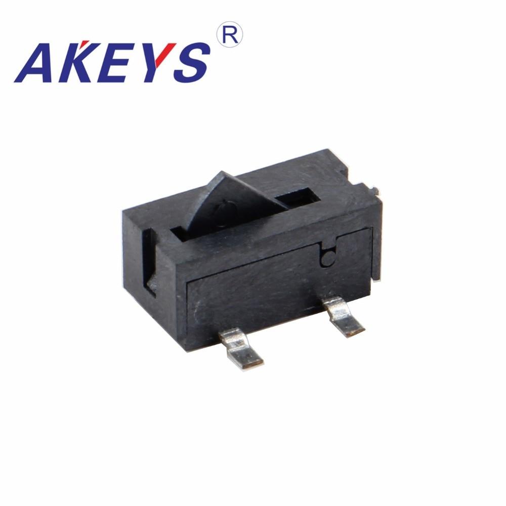 10PCS KFC-V-105 BLACK Patch Game Reset Inching Detection Switch Limit Switch