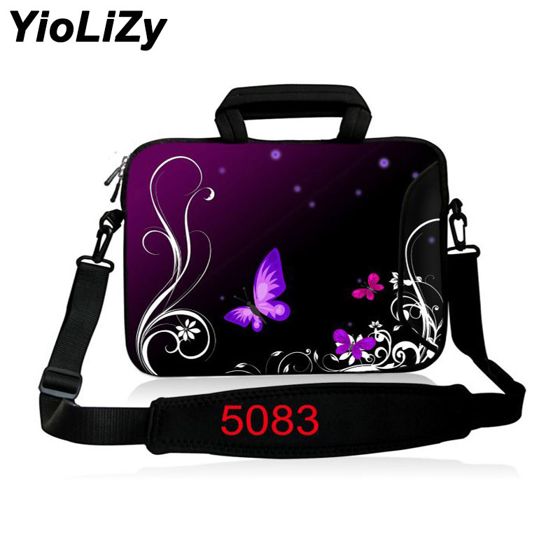 butterfly Laptop shoulder Bag 9.7 11.6 13.3 14.4 15.6 17.3 Notebook sleeve Case PC cover For macbook Air Pro 15 retina SB-5083