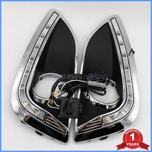 2 ШТ. Бесплатная Доставка Для Hyundai IX35 IX 35 2010 2011 2012 2013 СИД DRL Дневного Света Водонепроницаемый С Проводом жгут