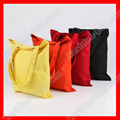 (50pcs/lot) size 35X40CM  black canvas tote bag for shopping