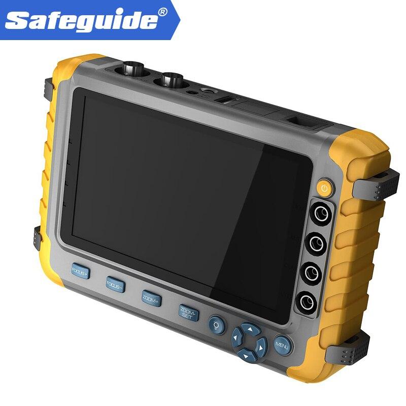 5 pouce TFT LCD 1080 p 5MP 4 EN 1 TVI AHD CVI Analogique Testeur CCTV Caméra De Sécurité Testeur Moniteur VGA Entrée HDMI Audio Test