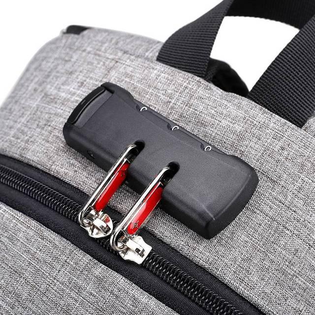Anti-vol sac à dos Femmes Mâle USB De Charge Sac À Dos Hommes Bagpack Portable Ordinateur Portable sacs à dos Adolescent Cartable pour Voyage