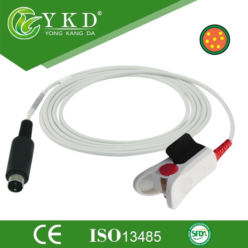Schiller Nellcor Modul SPO2 Sensor-Vuxen Finger Clip, - Hudvårdsverktyg
