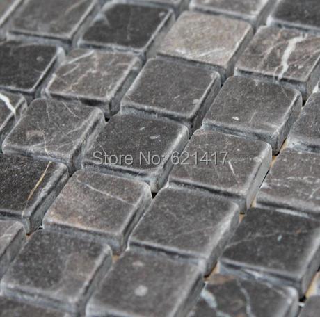 Heimwerker Marmor Stein Mosaik fliesen, Grau Mosaik fliesen, Küche ...