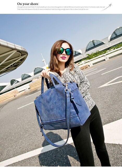 2016 новый ноутбук сумка Нубука Кожаная Сумка Леди.