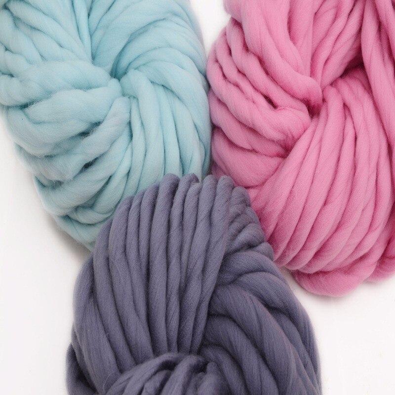 Mylb 1 unids./250 hilo grueso de viscosa de gran grosor para tejer a mano hilado de invierno cálido envío gratis