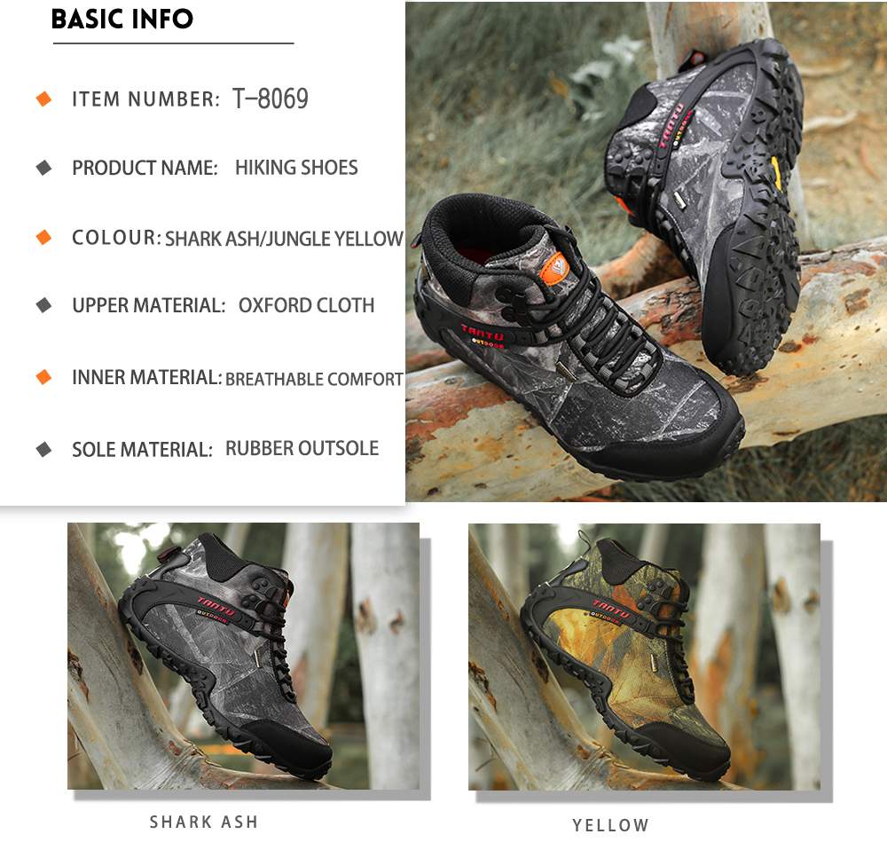 Outdoor Camouflage Tactical Sport Men\`s Shoes (5)