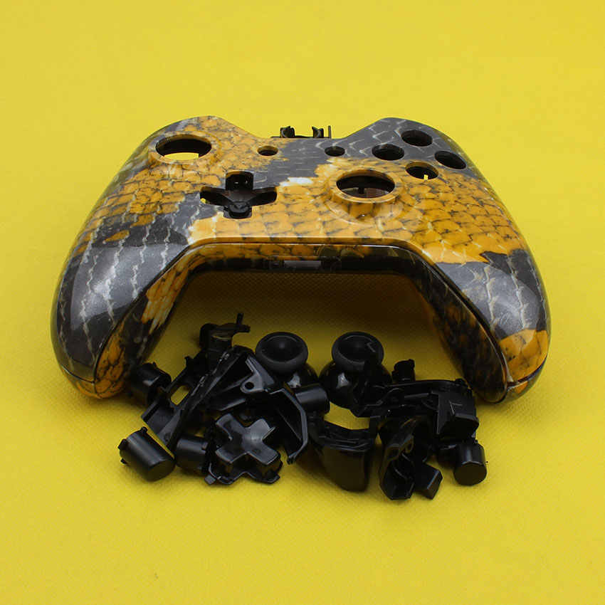 cltgxdd for Xbox One Game Controller shell case housing Replacement Custom  Controller Shell Mod Kit + Buttons with inner support