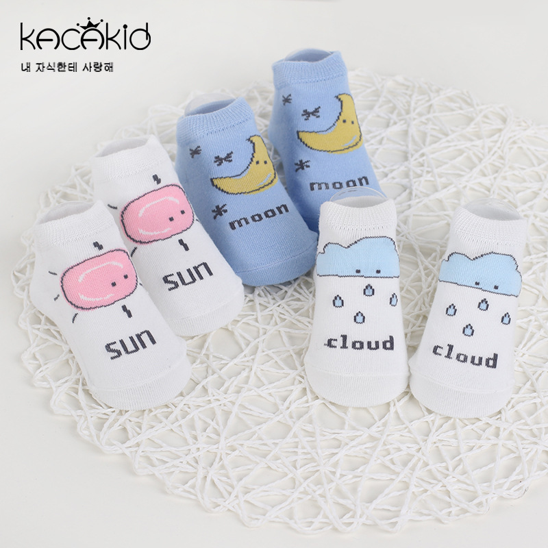 New Spring And Autumn Baby Socks Newborn Boys & Girls Cute Toddler Anti-slip Socks Cartoon Unisex Kid Cotton Socks 0 - 24 Months цены онлайн