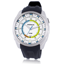 XONIX High-tech smart Mens Quartz Top Brand Luxury Wrist Watch  Classic Watches Striped Band Feminino Mens Clock Wrist Watch