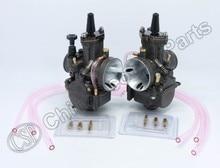 PWK PWK34 Carburetor 34 34MM Dual Set For Yamaha XS650 Keihin Carb