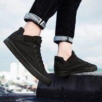 19 новые черные мужские весенние повседневные туфли из парусины увеличивающие рост кроссовки Студенческие беговые туфли мужские