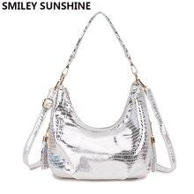 Smiley Sunshine Hobo Messenger Bag Women S Shoulder Bags Womens Handbag 2018 Silver Small Crossbody Las Hand